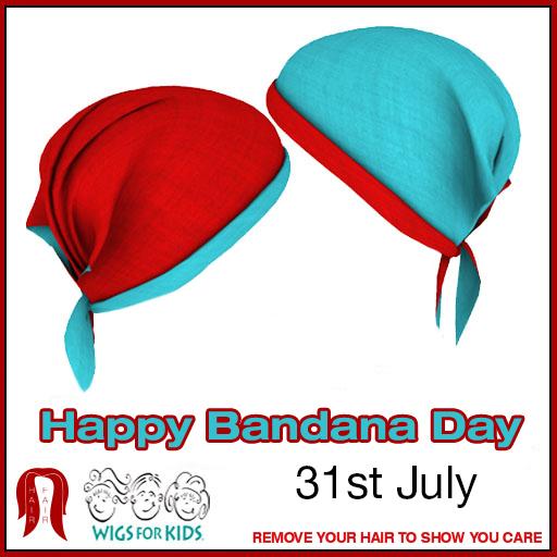 Happy Bandana Day - Booth Sign