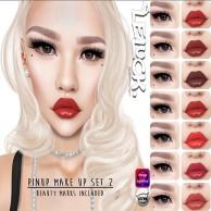 [LeLuck] Pinup make up set 2